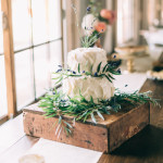 wedding cake // karissa + johnny // photos by emily delamater photography // 111 Maine